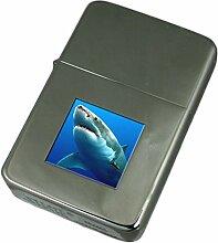 Gravur Feuerzeug Ozean Weißer Hai