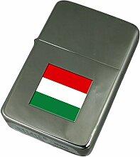 Gravur Feuerzeug Ungarn Flagge