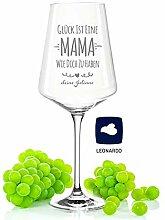 GRAVURZEILE Leonardo Puccini Weinglas mit Gravur -