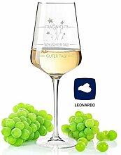 GRAVURZEILE Leonardo Puccini Weinglas mit Gravur