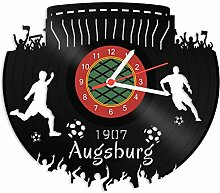 GRAVURZEILE Schallplattenuhr Augsburg - 100%