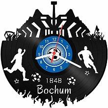 GRAVURZEILE Schallplattenuhr Bochum - 100%