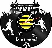 GRAVURZEILE Schallplattenuhr Dortmund - 100%