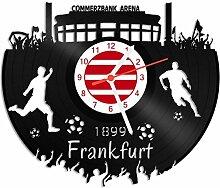 GRAVURZEILE Schallplattenuhr Frankfurt - 100%