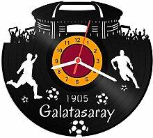 GRAVURZEILE Schallplattenuhr Galatasaray - 100%