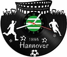 GRAVURZEILE Schallplattenuhr Hannover - 100%