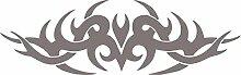 Graz Design 740093_70x22_090G Heckscheiben Auto Aufkleber Autoaufkleber Tuning Tribal Dekor Sticker (Gre=70x22cm//Farbe=090 silbergrau)