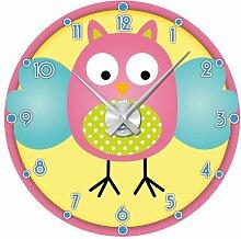 Graz Design 801086_AL Wandsticker Uhr mit Uhrwerk