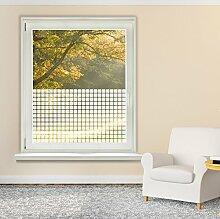 Graz Design 980057_57x90 Fensterfolie Glasdekor Fensteraufkleber Folie Karos Fenster Kche (Gre=57x90cm)