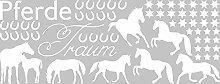 Graz Design Wandtattoo Aufkleber Tattoo Set für