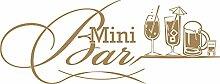 graz-design Wandtattoo Küche Mini Bar mit