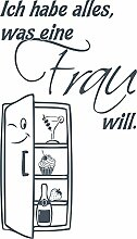 GRAZDesign 620474_40_841 Kühlschrank Aufkleber