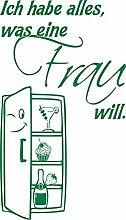 GRAZDesign 620474_50_061 Kühlschrank Aufkleber