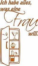 GRAZDesign 620474_57_083 Kühlschrank Aufkleber