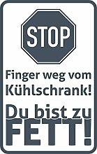 GRAZDesign 620477_57_841 Kühlschrank Aufkleber