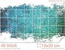 GRAZDesign 766108_10x20_80 Fliesenaufkleber Mosaik