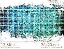 GRAZDesign 766108_20x20_60 Fliesenaufkleber Mosaik