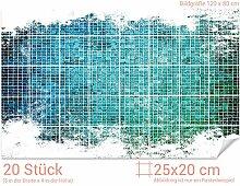 GRAZDesign 766108_25x20_80 Fliesenaufkleber Mosaik