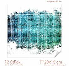 GRAZDesign 768108_20x15_60 Fliesenaufkleber Mosaik
