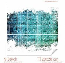 GRAZDesign 768108_20x20_60 Fliesenaufkleber Mosaik