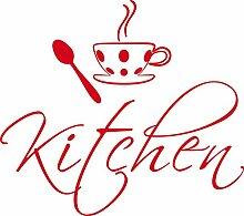 GRAZDesign 780063_57x50_032 Tür-Aufkleber Küche