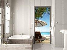 GRAZDesign 791121_67x205 Türtapete Urlaub mit