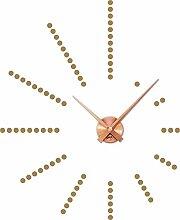 GRAZDesign 800048_KF_081 Wandtattoo Uhr Wanduhr