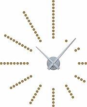 GRAZDesign 800048_SI_081 Wandtattoo Uhr Wanduhr
