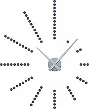 GRAZDesign 800048_SI_582 Wandtattoo Uhr Wanduhr