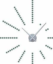 GRAZDesign 800048_SI_840 Wandtattoo Uhr Wanduhr