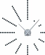 GRAZDesign 800048_SI_841 Wandtattoo Uhr Wanduhr
