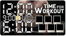 GRAZDesign 801133_GD Wandsticker Uhr Bilderrahmen
