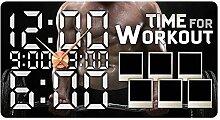 GRAZDesign 801133_KF Wandsticker Uhr Bilderrahmen