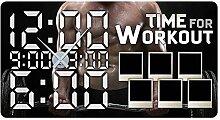 GRAZDesign 801133_SI Wandsticker Uhr Bilderrahmen