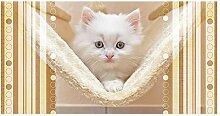 GRAZDesign 991157_80x57 Sichtschutzfolie Katzen -