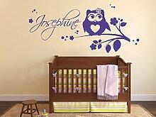 GRAZDesign Aufkleber über Kinderbett -