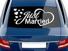 GRAZDesign Autoaufkleber Hochzeit Sticker -