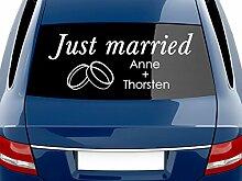 GRAZDesign Autodeko Aussen Just Married -