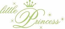 GRAZDesign Babybett Aufkleber kleine Prinzessin -
