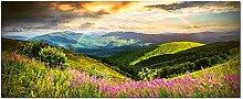 GRAZDesign Bild Glas Berge Landschaftsbilder