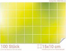 GRAZDesign Dekofliesen grüne Töne - Badfliesen