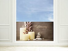 GRAZDesign Fensterfolie Badezimmer -