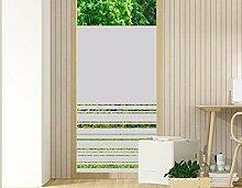 GRAZDesign Fensterfolie Blickdicht - Glastür