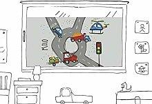 GRAZDesign Fensterfolie für Kinderzimmer &