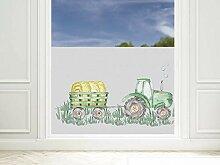 GRAZDesign Fensterfolie Kinderzimmer für Jungen,
