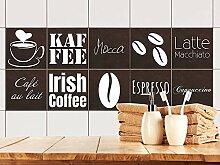 GRAZDesign Fliesenspiegel Küche Kaffee -