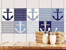 GRAZDesign Fliesenwandbild maritimes Motiv,