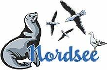 GRAZDesign Fototapete Nordsee, Poster