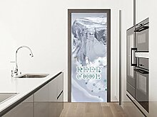 GRAZDesign Klebefolie Tür Eisschrank - Türbild