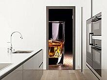 GRAZDesign Klebefolie Tür Whisky - Türbild